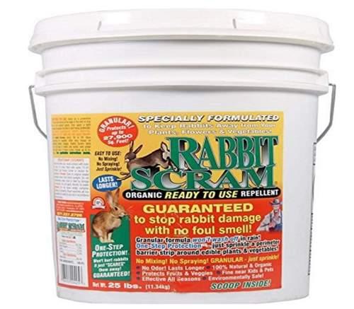Enviro Pro 11025 Rabbit Scram Repellent Granular White Pai